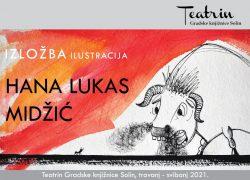 Otvaranje izložbe Hane Lukas Midžić