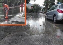 VIDEO | Zvonimirova ulica poplavila, a u Radićevoj voda izbacila šahte