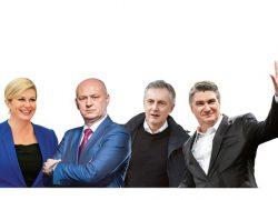 Ni Kolinda, ni Zoki, ni Škoro ne žele u TV ring s Kolakušićem!!! Bježe od Mislava k'o vrag od tamjana. SRAMOTNO, nema TV sučeljavanja jer tako žele ONI
