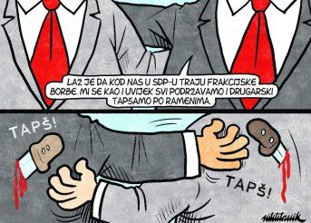 U SDP-u se svi drugarski podržavaju