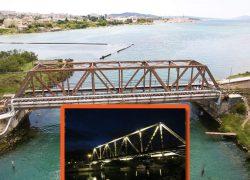 Oronuli ruzinavi most i LED rasvjeta