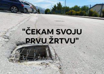Gradonačelniče Dalibor imate li namjeru riješiti problem rupa na cestama Solina?