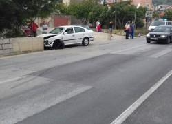 NEKONTROLIRANA VOŽNJA: Automobilom se zabio u zid