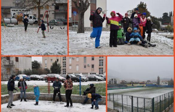 FOTOGALERIJA   Solin u snijegu