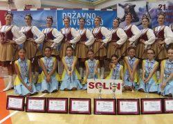 Uspjeh solinskih mažoretkinja na Državnom prvenstvu u mažoret plesu