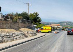 Sudar na ulazu u Vranjic: Ozlijeđene dvije osobe s motocikla