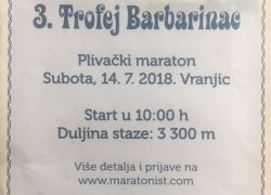 PLIVANJE: 3. Trofej Barbarinac