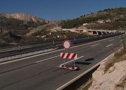 Lančani sudar na brzoj cesti Solin-Klis