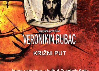 Kazališna predstava Veronikin rubac Križni put